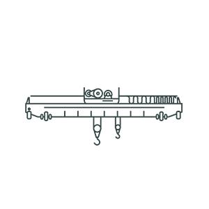 NBB tecnologia de gruas y elevadores gruas de nave gruas de corredera