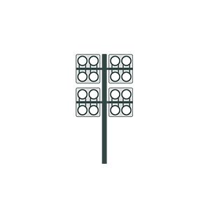 NBB aplicaciones especiales columnas de alumbrado