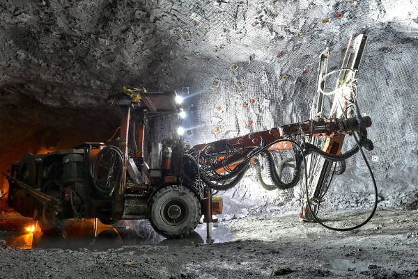 NBB radio remote controls mining quarrying